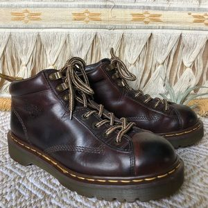 Doc Martens • Made In England Lace Up Boots